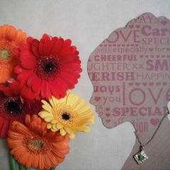 Lisa Dent - Gloucestershire:  With good mental health I want to stop and smell the flowers.
