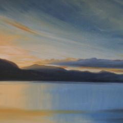 Sevina Yates - Kent:  With good mental health I can create art such as this  oil painting of one of the lakes in the Englsh lake district . Being amongst mountains calms my soul and inspires me every single second I am there .  I chose this painting to upload because of the sense of peace in it and the idea of freedom . Ive suffered from severe depression for many years and have only recently beat it . Painting helps enormously . It lifts me and releases endorphins and seratonin and I sing whilst I paint too . The creative process allows me to see the world as a beautiful place and that shift of mind keeps me well . Life is glorious .