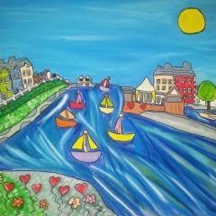 Mair Eleri Davies - Pontardawe  With good mental health I see the colours of the world