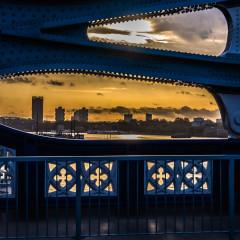 Carole Baker, Carshalton - Sunrise in London