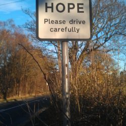 Hope- please drive carefully