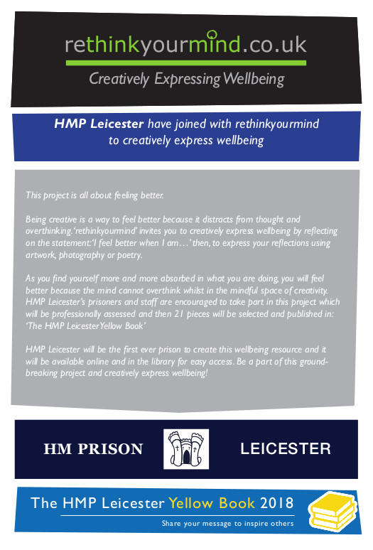 The HMP Leices Yellow Book - Flyer Back